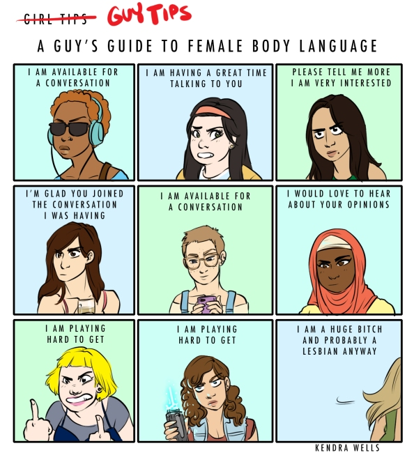 femalebodylanguage